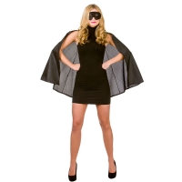 Super-Hero-Cape-&-Mask---Black