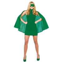 Super-Hero-Cape-&-Mask---Green
