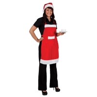 Santa-Apron-&-Hat-Set