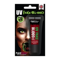 UV Gel Blood - Glows GREEN 10ml