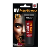 UV Gel Blood - Glows ORANGE 10ml