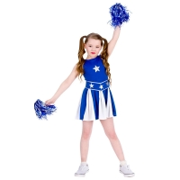 High-School-Cheerleader-Blue-White