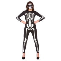 Adult Unisex Skeleton Jumpsuit
