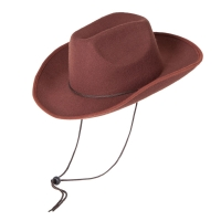 Brown Indestructabe Cowboy Hat