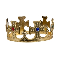 King or Queen Gold Crown