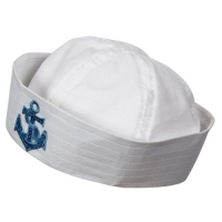 Sailor Doughboy Hat - With Emb Anchor