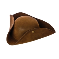 Super Deluxe Suede Pirate Hat