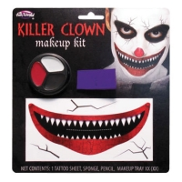 Big Mouth Killer CLown Makeup Kit