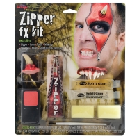 Deluxe Zipper FX Kit - Devil