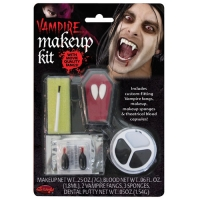 Vampire Make Up Kit with Fangs