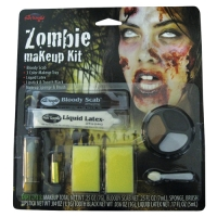 Zombie Makeup Kit Scabs
