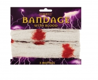 Bandage with Blood