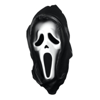 Scream Mask with Shroud