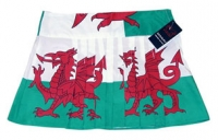 ladies flag skirt kilt